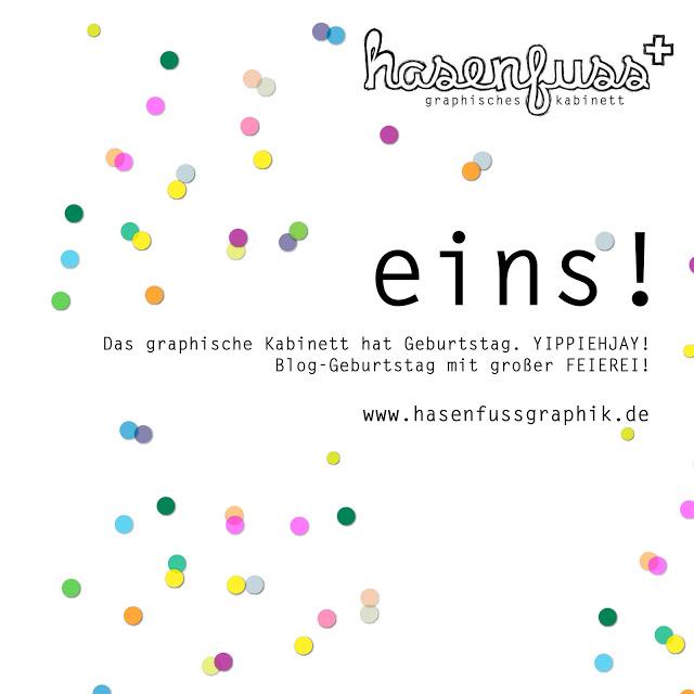 FEIEREI – Geburtstagsparty im graphischen Kabinett hasenfuss