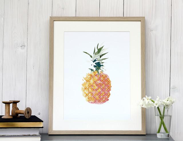 Nachgelegt – gewinnt doch einfach mal das Ananas-Poster!