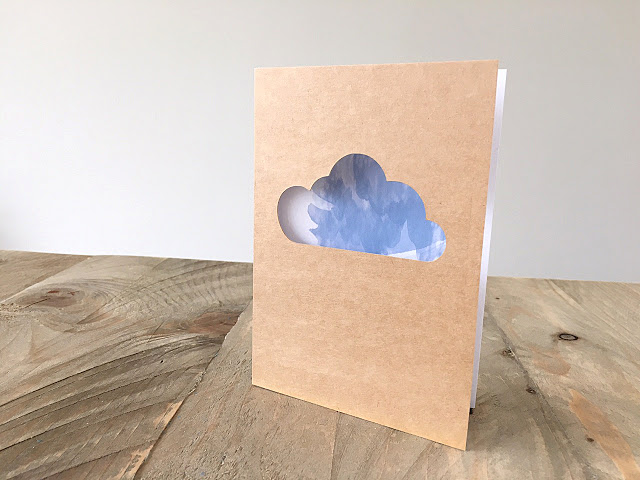 TADAAA Nr. 2 – hier ist die wuffelig-weiche Karte mit Wolke